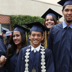 More than 560 Students Participate in Commencement