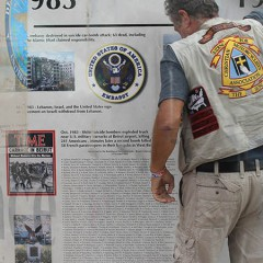 Veterans Memorial Wall Visits FC