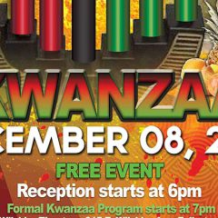 Fullerton College Kwanzaa Celebration Hosts Kwanzaa Founder, Dr. Maulana Karenga Dec. 8