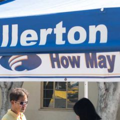 Fall 2018 Information Booths Available Opening Week