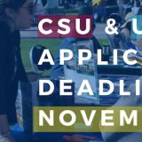 Transfer Center Helps Students Prepare for CSU and UC Priority Application Deadline – Nov. 30