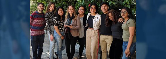Aline Gregorio Named Fullerton College Teacher of the Year