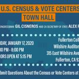 Rep. Cisneros Hosts Town Hall at Fullerton College